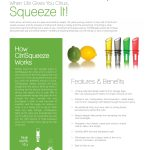 CitriSqueeze Sell Sheet